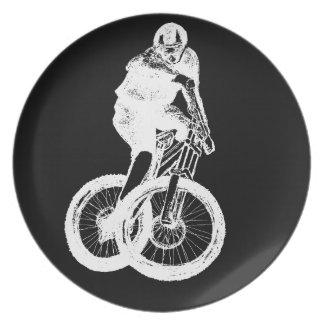 Prato CICLISTA do motociclista MTB BMX da montanha