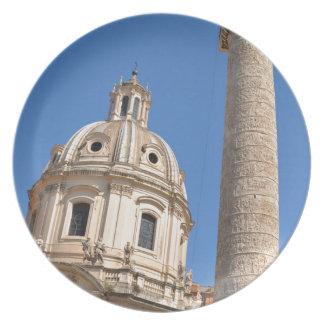 Prato Cidade antiga de Roma, Italia