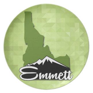Prato Cidade natal de Emmett Idaho Idahoan Gem County