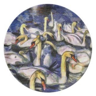 Prato Cisnes Vincent van Gogh