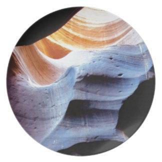 Prato Colisões e protuberâncias nas rochas