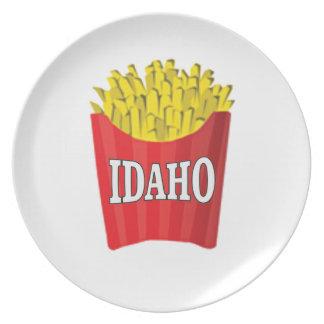 Prato Comida lixo de Idaho