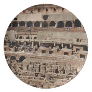 Prato construção antiga do crumble