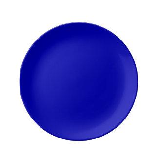 Prato Cor sólida azul escuro