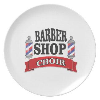 Prato coro da barbearia
