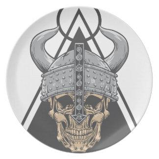 Prato Crânio de Viking