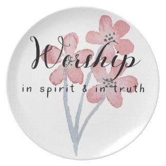 Prato Culto no espírito e na verdade