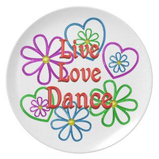 Prato Dança viva do amor