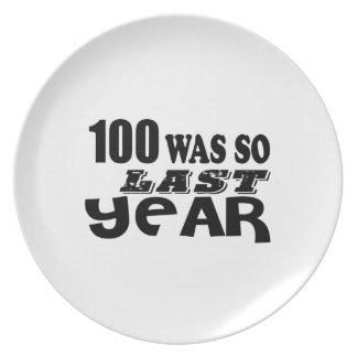 Prato De Festa 100 eram assim tão no ano passado design do