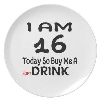 Prato De Festa 16 hoje compre-me assim uma bebida
