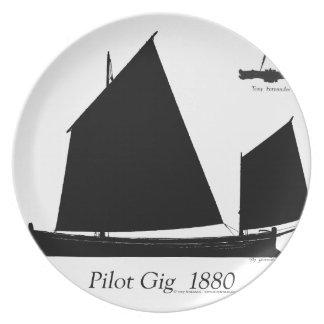 Prato De Festa 1880 actuação piloto - fernandes tony