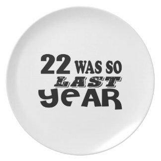 Prato De Festa 22 era assim tão no ano passado o design do