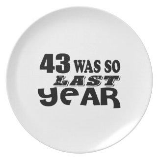 Prato De Festa 43 era assim tão no ano passado o design do