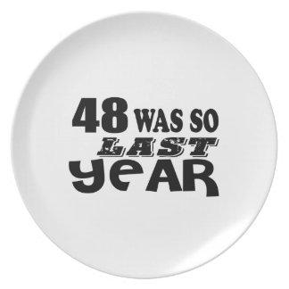 Prato De Festa 48 era assim tão no ano passado o design do
