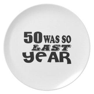 Prato De Festa 50 era assim tão no ano passado o design do