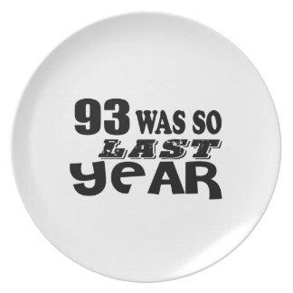Prato De Festa 93 era assim tão no ano passado o design do