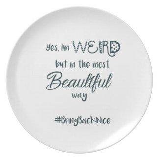 Prato De Festa A ajuda cresce o movimento ao #BringBackNice!