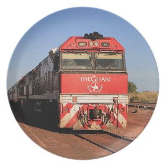Prato De Festa A locomotiva do trem de Ghan, Darwin