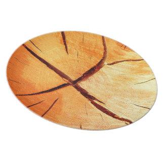 Prato De Festa A madeira seca é necessária