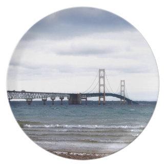 Prato De Festa A ponte de Mackinac