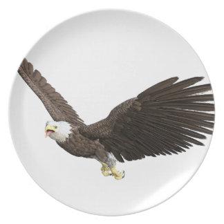 Prato De Festa Águia americana crescente