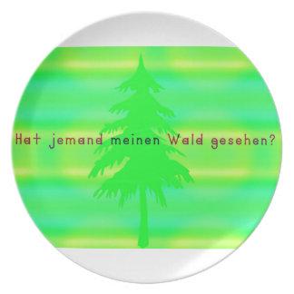 Prato De Festa Alemão - floresta