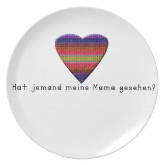 Prato De Festa Alemão - mamães