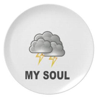 Prato De Festa alma minhas tempestades