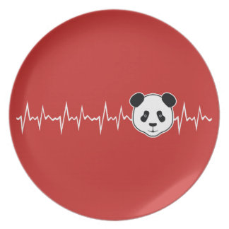 Prato De Festa Amante da panda