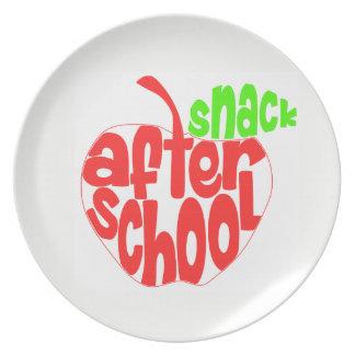 Prato De Festa Após a placa da melamina do petisco da escola