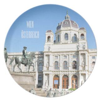 Prato De Festa Arquitetura em Viena, Áustria