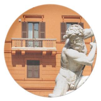Prato De Festa Arquitetura italiana na praça Navona, Roma, Italia