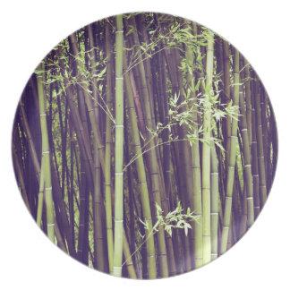 Prato De Festa Árvores de bambu