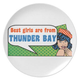 Prato De Festa As melhores meninas são de Thunder Bay