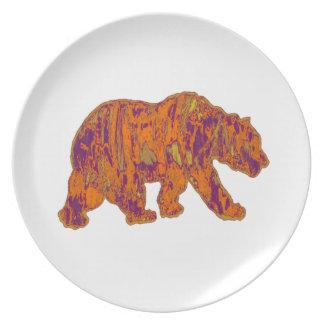Prato De Festa As necessidades simples do urso