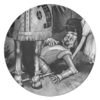 Prato De Festa As quedas do cavaleiro branco