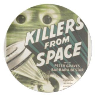 Prato De Festa Assassinos do espaço