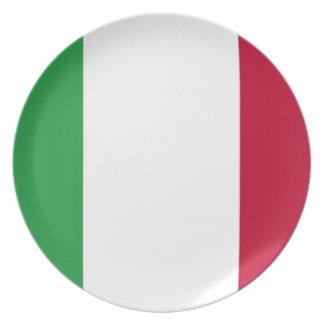 Prato De Festa Baixo custo! Bandeira de Italia