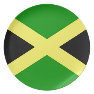 Prato De Festa Baixo custo! Bandeira de Jamaica