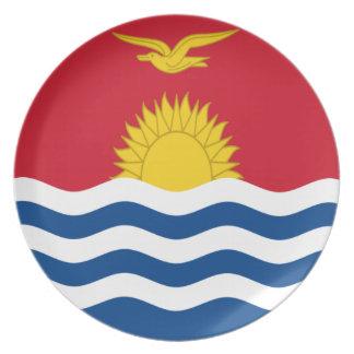 Prato De Festa Baixo custo! Bandeira de Kiribati