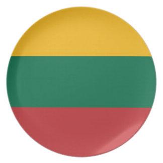 Prato De Festa Baixo custo! Bandeira de Lithuania