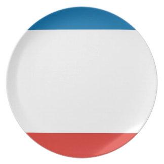 Prato De Festa Bandeira de Crimeia