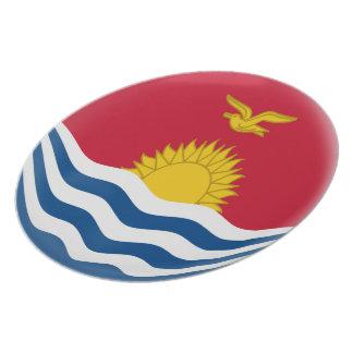 Prato De Festa Bandeira de Kiribati
