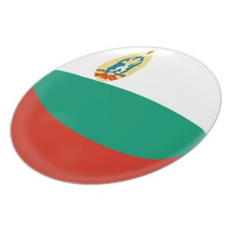 Prato De Festa Bandeira do búlgaro de Bulgária
