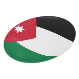 Prato De Festa Bandeira do jordano de Jordão