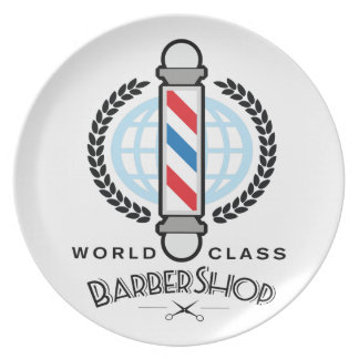 Prato De Festa Barbearia da classe do mundo