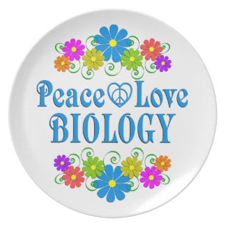 Prato De Festa Biologia do amor da paz
