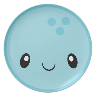Prato De Festa Bola de boliche Emoji