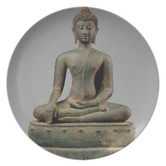 Prato De Festa Buddha - Tailândia assentados