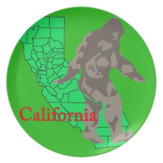 Prato De Festa Califórnia bigfoot